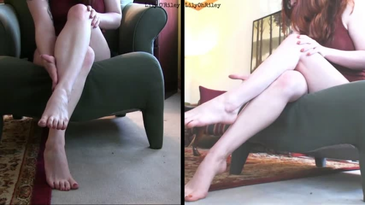 [Full HD] lilyohriley silent calf showoff - LilyOhRiley - Amateur | Legs, Feet - 302,5 MB