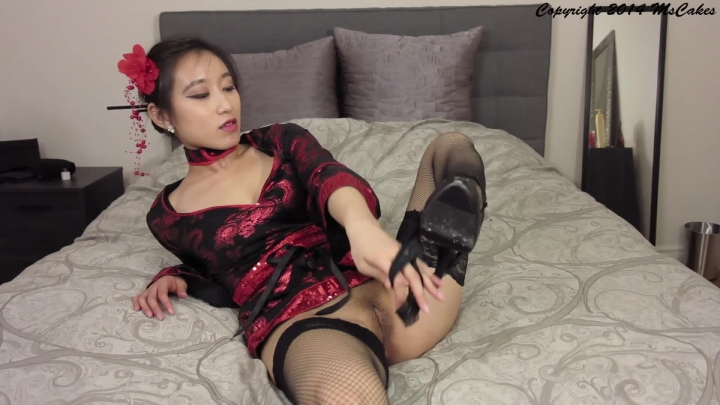 [Full HD] mscakes asian persuasion geisha striptease - MsCakes - Amateur | Halloween, Role Play - 532,8 MB