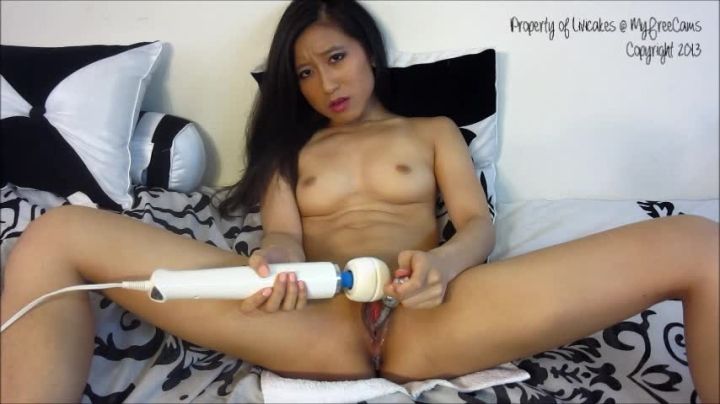 [SD] mscakes creamy cums with my njoy wand - MsCakes - Amateur | Hitachi, Asian, Toys - 761,6 MB