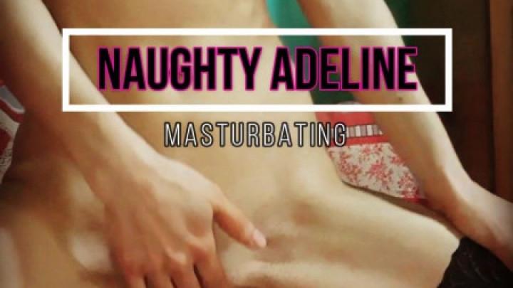 [SD] naughty adeline naughty adeline masturbation video - Naughty Adeline - Amateur | Solo Masturbation, Stocking, Masturbation - 766,8 MB