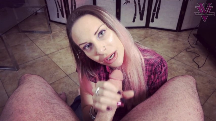 [Full HD] naughty vicky vixxx sensual deepthroat while giving you sph - Naughty Vicky Vixxx - Amateur | Blowjob, Sph - 1,6 GB