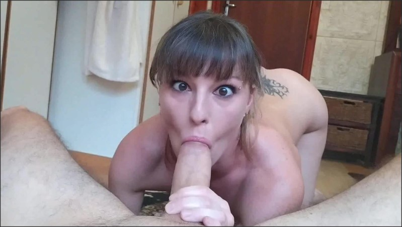 Sexy Ahegao Wide Eyed Cross Deepthroat With Thick Saliva Play  28.09.2020