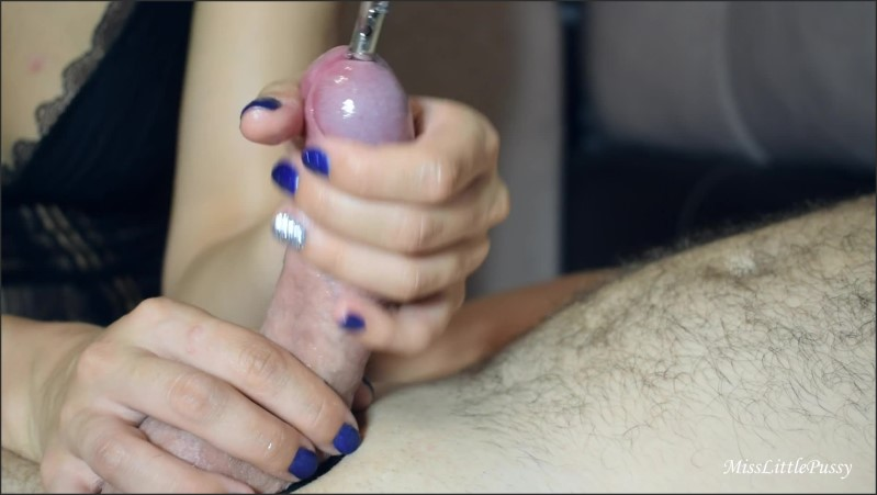 [Full HD] beautiful amateur wife sounding cock to cum   - MissLittlePussy - -00:14:41 | Masturbation, Kink, Catheter - 548,8 MB