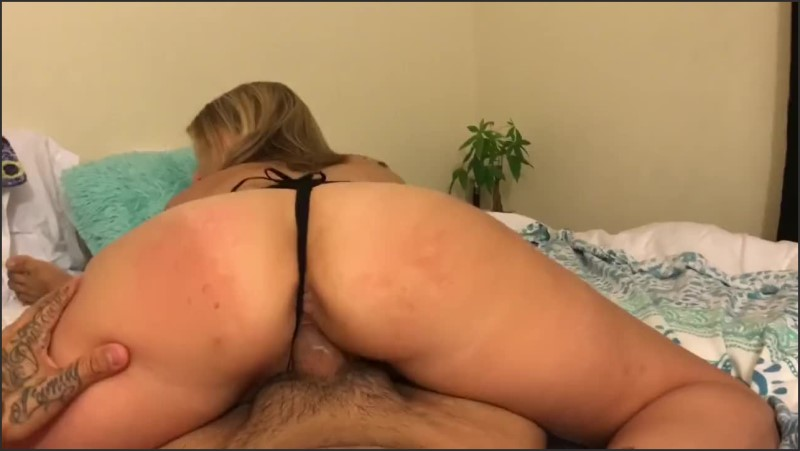 Big Tits Blonde Fucked In Lingerie Sucks And Rides Dick Like A Champ  05.10.2020