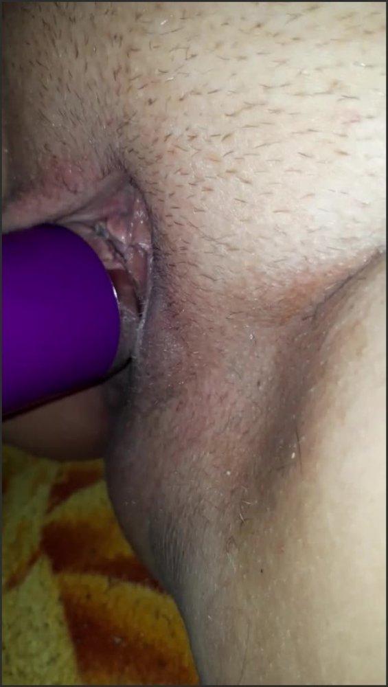 [SD] magic wand insertion masturbating   - MissNightlove - -00:06:20 | Solo Female, Orgasm - 76,4 MB