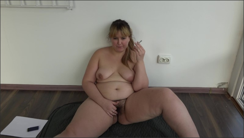 [Full HD] smokes and masturbates pretty bbw with hairy pussy on webcam   - Porn-BBW - -00:18:32 | Milf, Mother - 373,8 MB