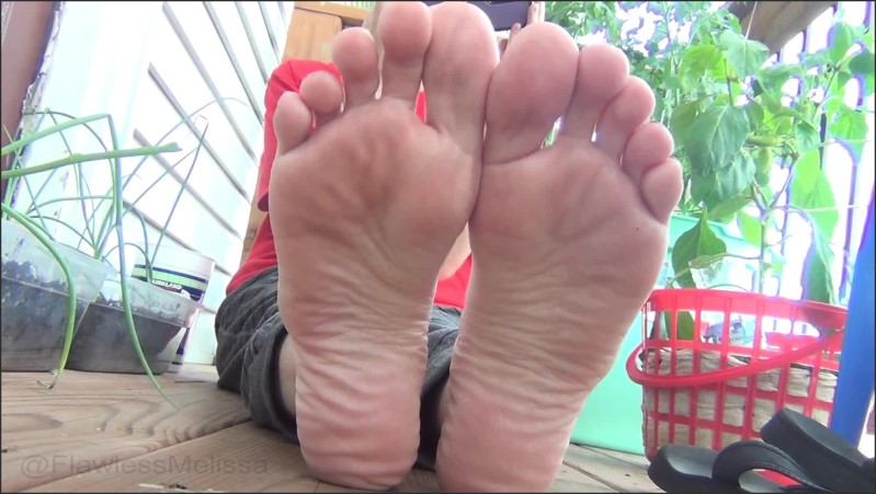 [Full HD] wrinkled soles on size 8 feet flawless melissa   - flawlessmelissa - -00:07:13 | Flawless Melissa, Exclusive - 152,1 MB