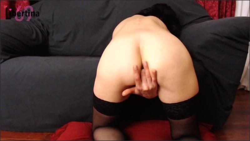 [Full HD] 5 dita per il suo culo voglioso  - Libertina69 - -00:08:55 | Verified Amateurs, Exclusive, Stockings - 164,8 MB
