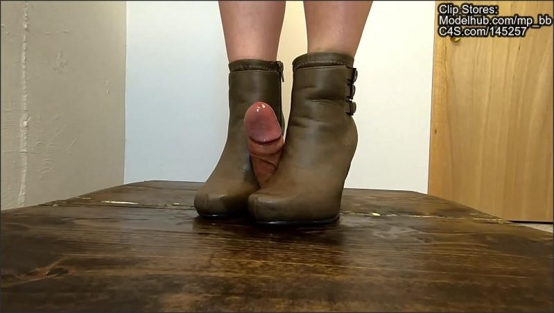 [Full HD] amateur cock crushing bootjob cum back pov   - Miss Phantom - -00:22:04 | Kink, Brunette - 528 MB