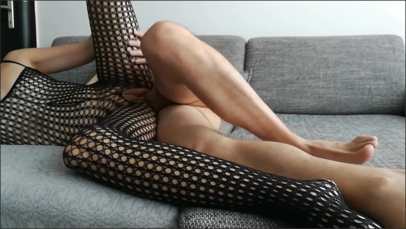 [Full HD] amateur wife fucks in fishnet bodysuit spooning style and reverse cowgirl   - Lyla Lee - -00:06:15 | Cum Inside Pussy, Exclusive - 200,2 MB