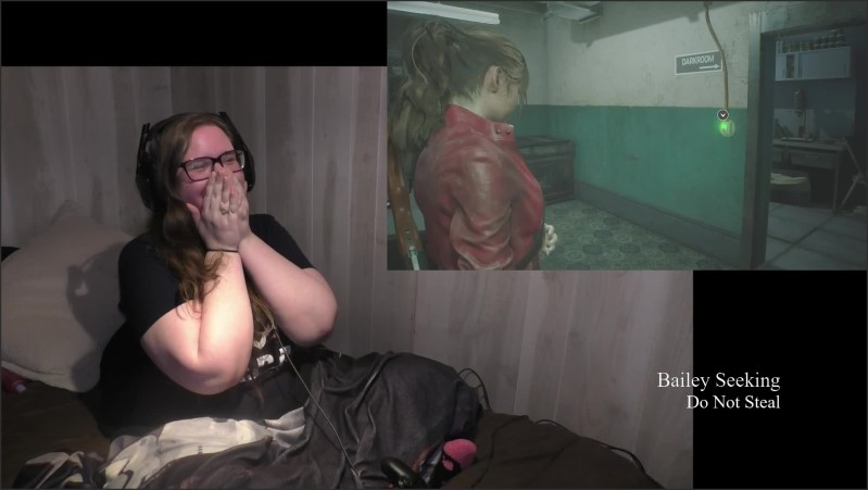 [Full HD] bbw gamer girl drinks and eats while playing resident evil 2 part 4   - SeekingBailey - -00:51:08 | Bbw, Amateur - 1,4 GB