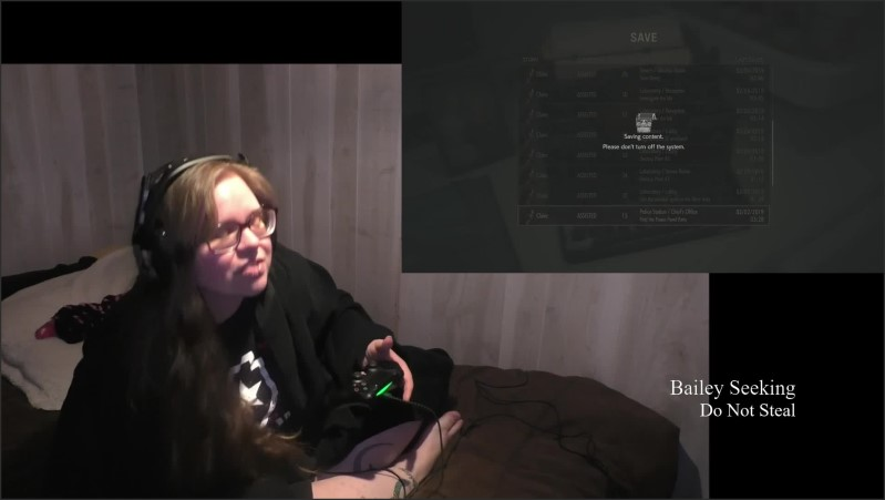 [Full HD] bbw gamer girl drinks and eats while playing resident evil 2 part 8   - SeekingBailey - -01:13:34 | Brunette, Cosplay, Drink - 2,1 GB