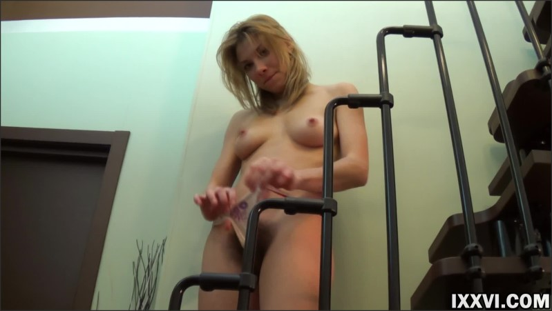 [Full HD] beautiful blonde fingering pink hairy pussy   - GoldenBabes - -00:08:27 | Blonde, Hairy Teen - 306,5 MB