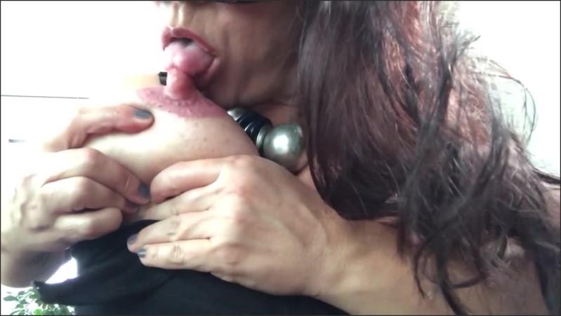 [Full HD] big fat lollipops i lick my milk teats myself   - Tanja Tachee - -00:08:34 | Mature, Lactating Milf, Milf Milking Tits - 230,4 MB