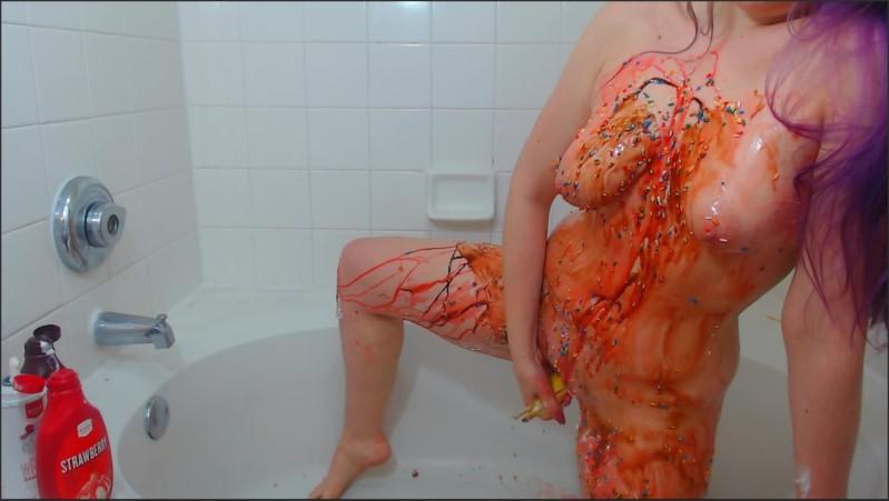 [Full HD] cute camgirl human banana split messy food sploshing and fucking a banana   - Ari Cleo - -00:07:30 | Masturbation, Kink, Food - 199,8 MB
