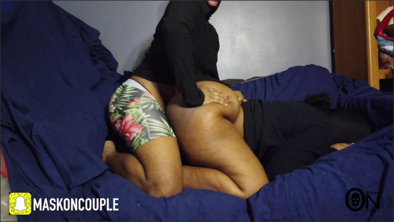 [Full HD] damn that pussy wet and booty fat couch session 2 part 1   - MaskOnCoupleXXX - -00:07:11 | Couple Fucking, Butt, Ebony - 117,1 MB