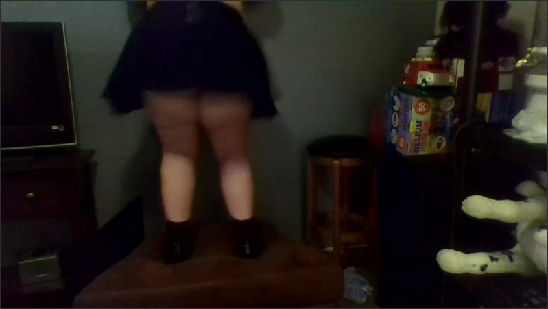 [Full HD] fat girl dancing from behind   - Sapphire Lolita - -00:07:56 | Teen, Solo Female, Fat Ass - 133,5 MB