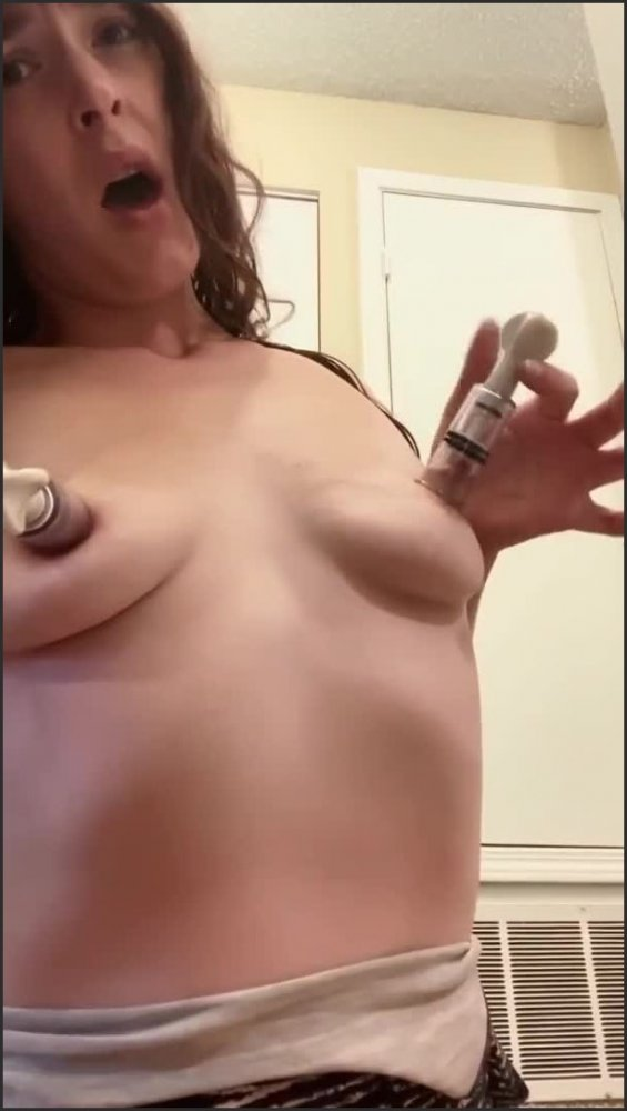 Hurt Nipple Pain And Solo Anal  14.11.2020