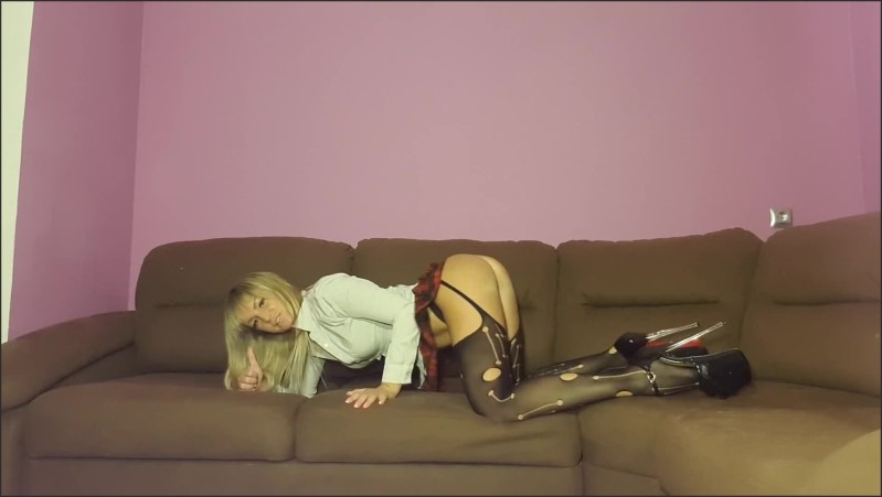 [Full HD] jerk off instrucion for sisy boy   - Nadi Zabava - -00:10:58 | Blonde, Solo Female, Exclusive - 138,3 MB
