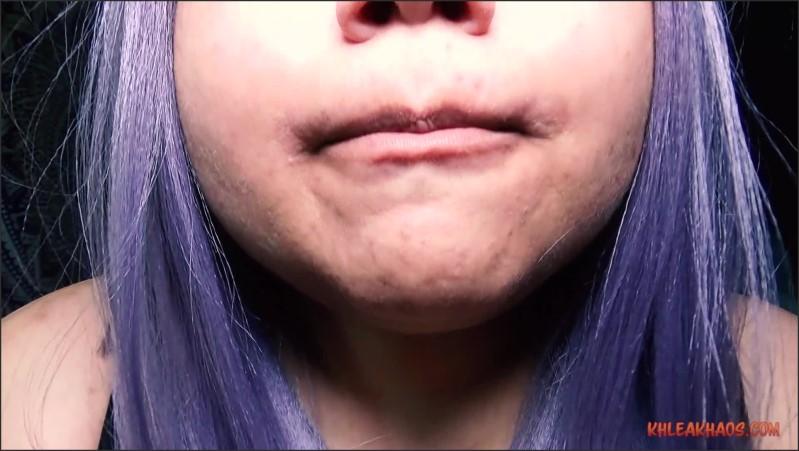 [Full HD] long time no teeth   - Khlea Khaos - -00:07:37   Bbw, Teeth Mouth Fetish - 608,3 MB
