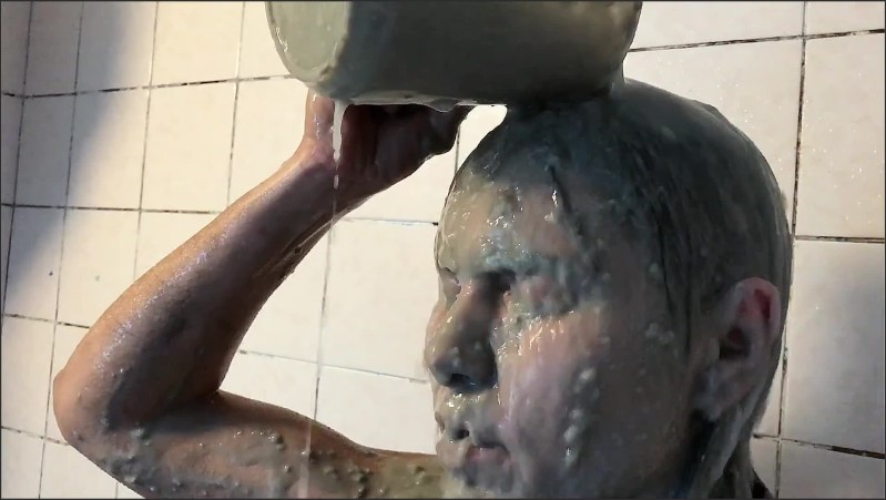 [Full HD] mud showering sexy girl wetlook fully clothed   - AliMessyxxx - -00:13:11 | Solo Female, Brunette, Mud - 368 MB