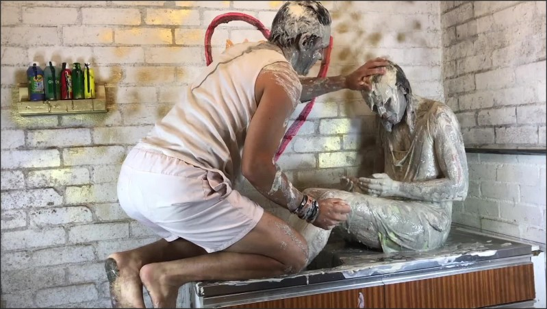 [Full HD] secret messy play fully clothed by sexy wam splosh playing with clay   - AliMessyxxx - -00:28:18 | Secret, Wam Gunge - 954 MB