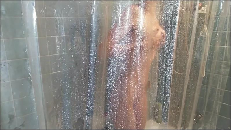 [Full HD] shower masturbation with bottle brush p-- finish   - Willamina Giddons - -00:16:18   Solo Female, Bottle Brush, Milf - 373,3 MB