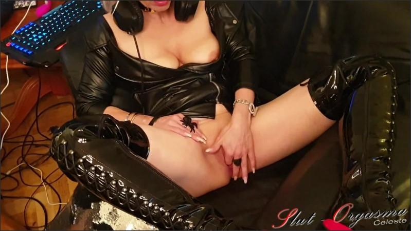 [Full HD] slut orgasma celeste playing secondlife chaving cunt and get horny   - Slut-Orgasma - -00:15:07 | Solo Female, Sex Slave - 390,6 MB
