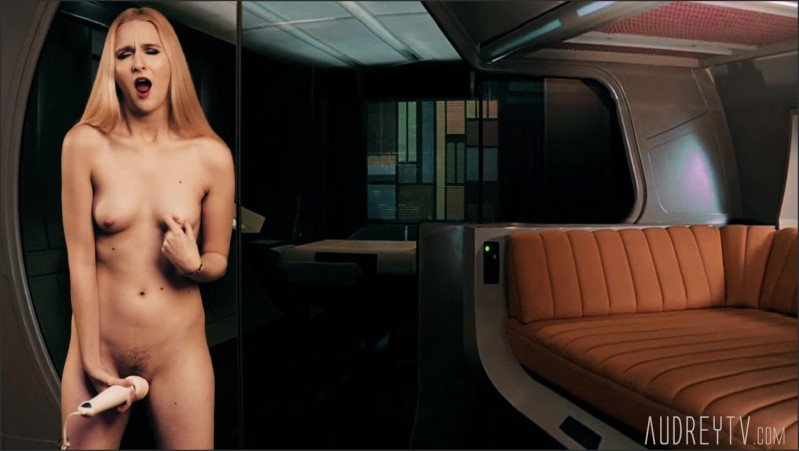 [Full HD] star trek yeoman cosplay with butt plug and orgasm   - Audrey Madison - -00:13:55   Small Tits, Petite, Scifi - 223,8 MB